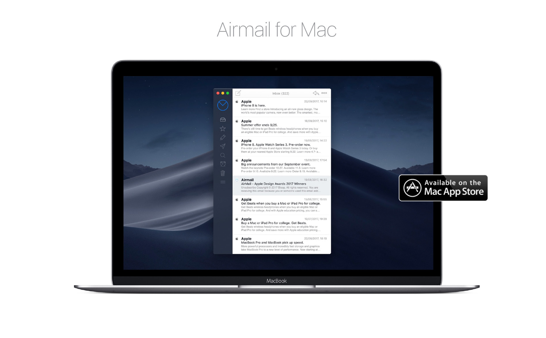 Airmail for Mac - Lightning Fast Mail Client for Mac and iOS