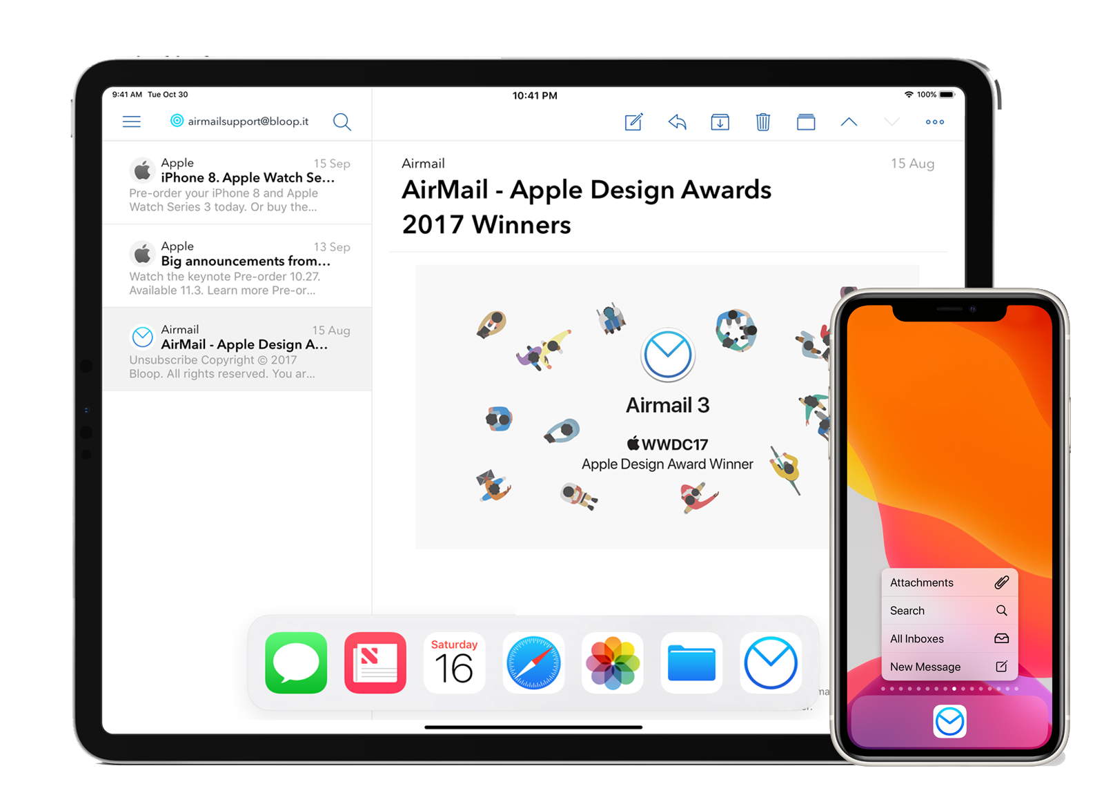 Airmail for Mac and iOS